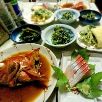 伊波荘 夕食