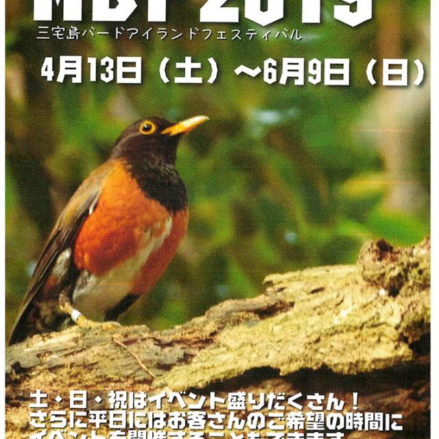 ■三宅島バードアイランドフェスティバル2019■