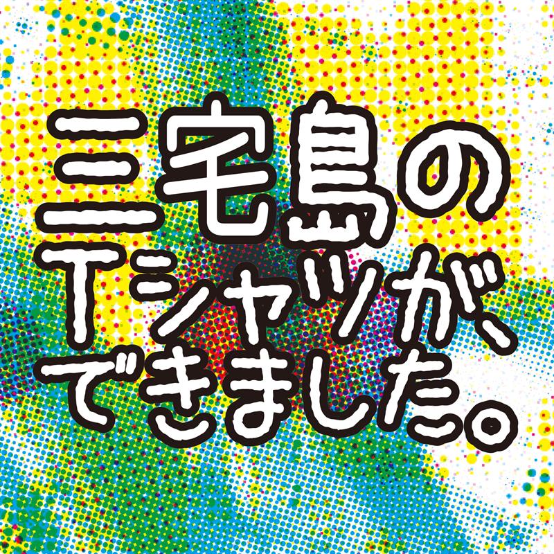 ☆2021年三宅島Tシャツ販売中です☆