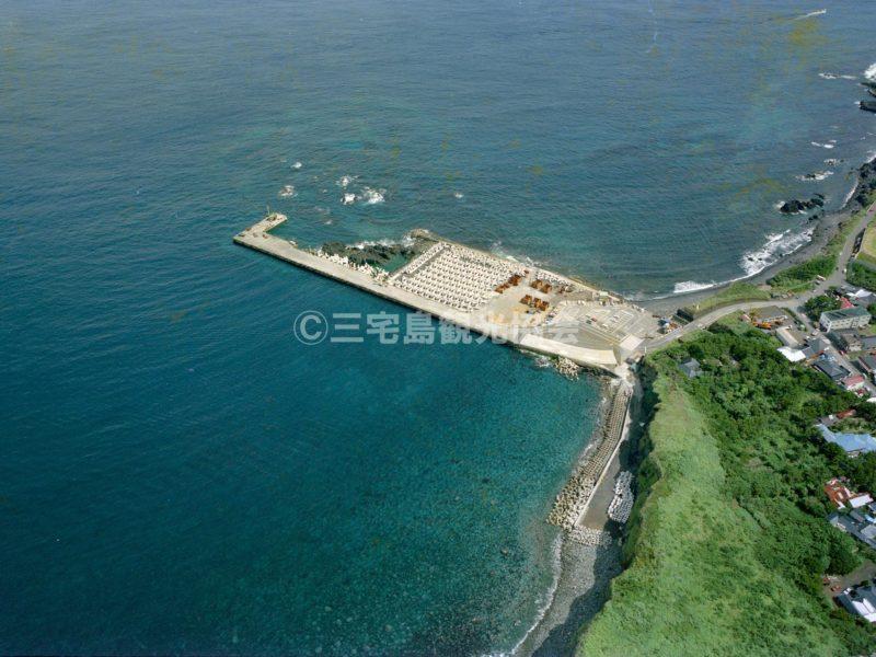 空から見る三池港