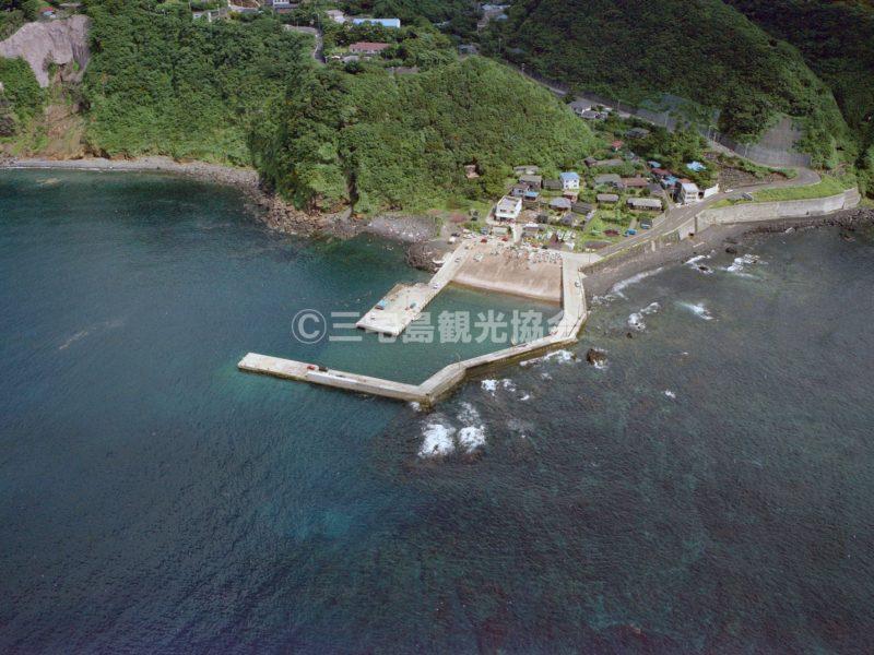 空から見る伊ヶ谷港