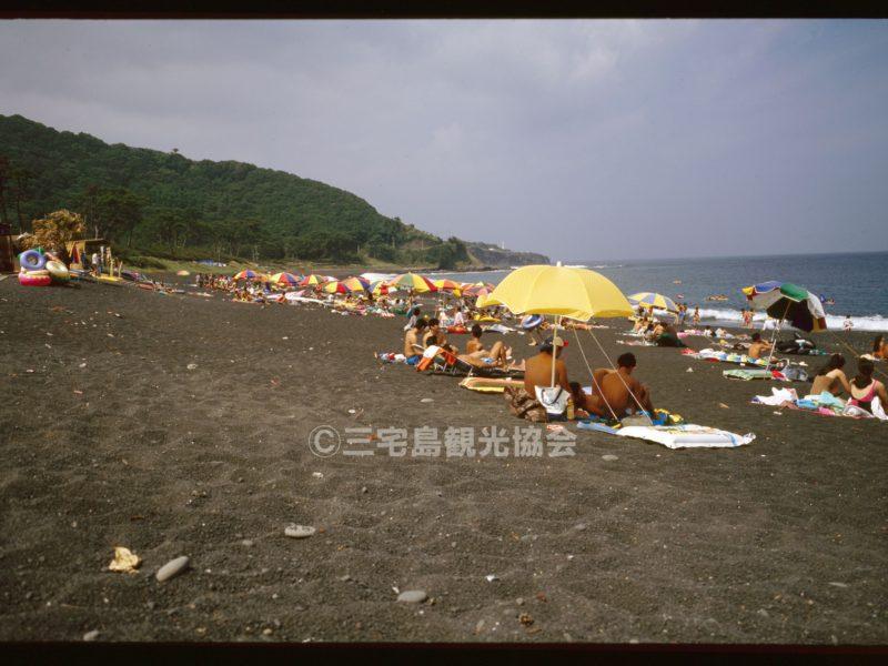 三池浜・夏のにぎわい