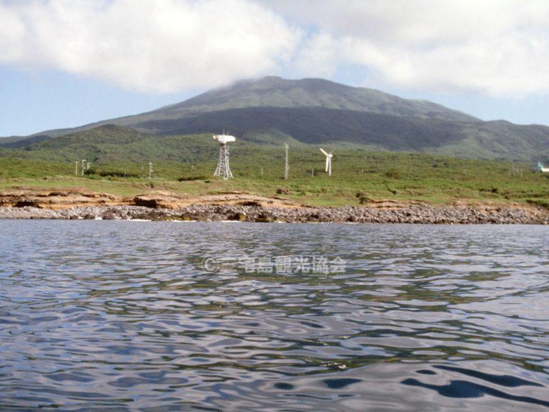 海から見る風力発電